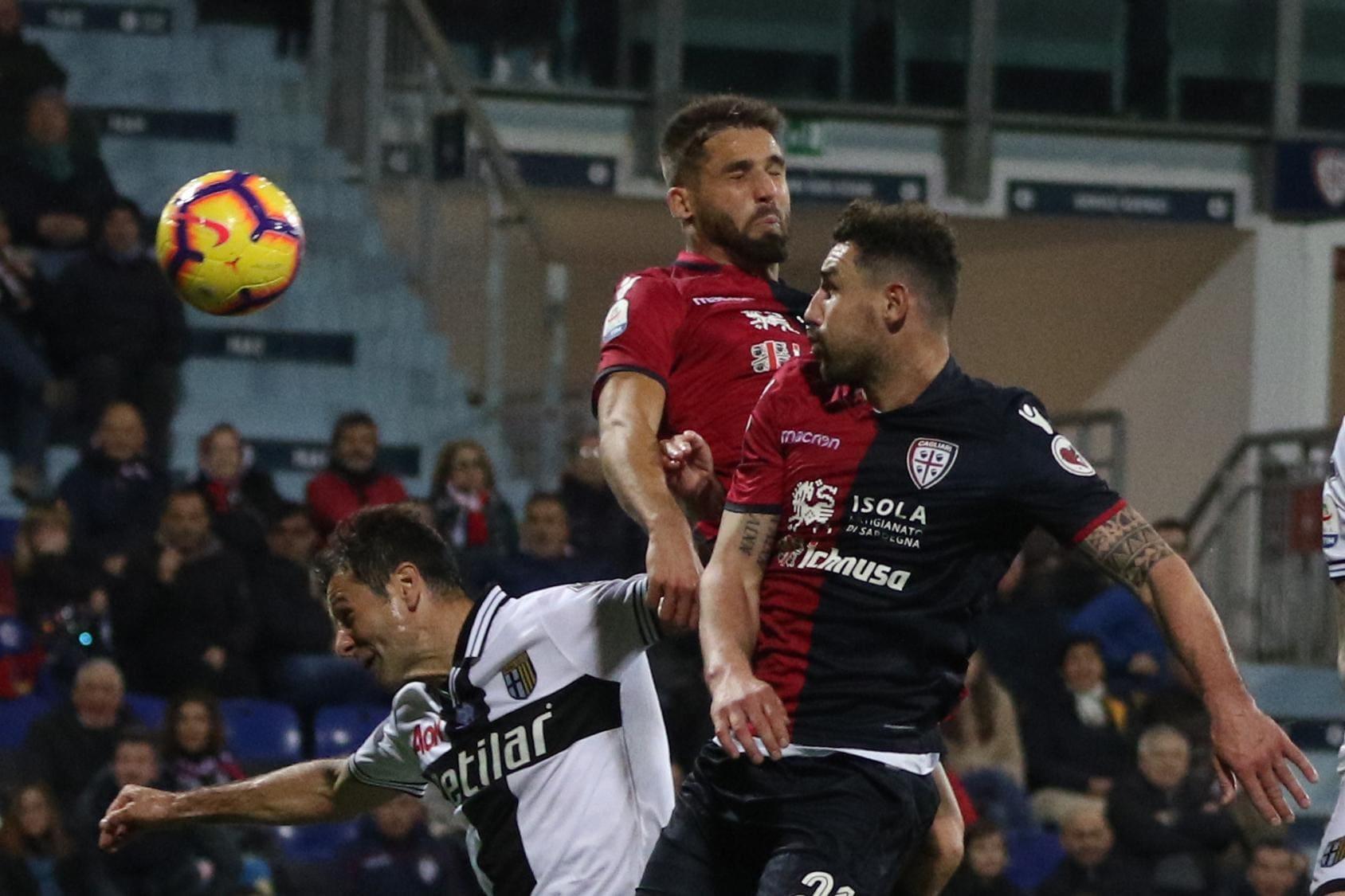 Calcio: Cagliari-Parma 2-1