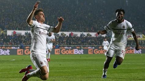 Serie A, Atalanta-Milan 1-3: doppio Piatek, sfida Ronaldo