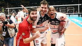 Volley: Superlega, Milano parte piano poi travolge Siena
