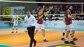 Volley: A2 Maschile, Girone Bianco, Roma cala il poker