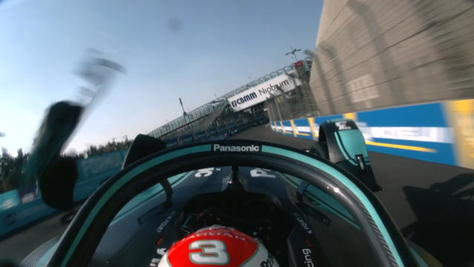 E-Prix Messico, brutto incidente per Piquet Jr