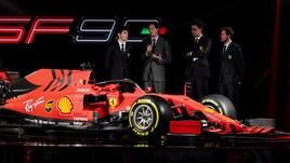 F1 Ferrari: la SF90 al debutto con Vettel