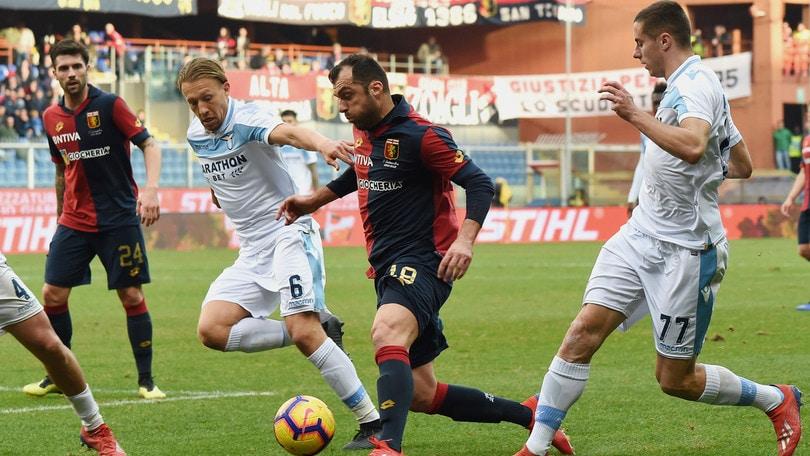 Serie A Genoa-Lazio 2-1, il tabellino