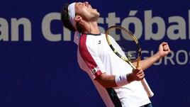 Tennis: Cecchinato di lusso, campione a Buenos Aires