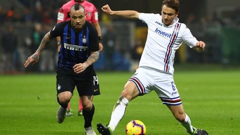 Serie A Inter-Sampdoria 2-1, il tabellino