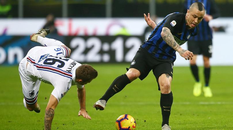 Serie A, Inter-Sampdoria 2-1: senza Icardi, D'Ambrosio e Nainggolan decisivi