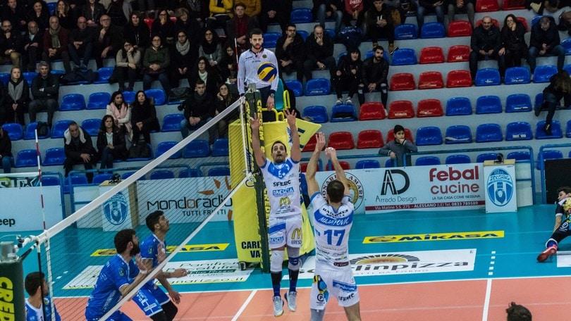 Volley: A2 Maschile, Girone Bianco, cadono le grandi