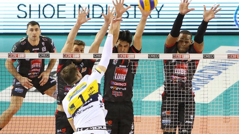 Volley: Superlega, Civitanova travolge Modena
