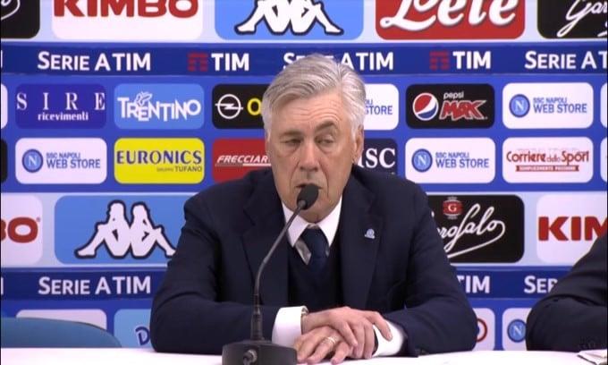 """Ancelotti: """"Futuro di Ospina? Resta anche l'anno prossimo"""""""