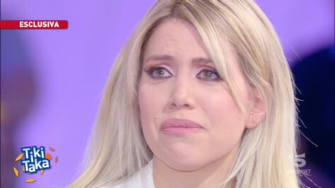 Wanda Nara in lacrime: «Icardi vuole restare all'Inter»