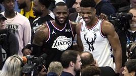 NBA, la magia dell'All-Star Game: Team LeBron vs Team Giannis