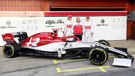F1, via i veli in pista per l'Alfa Romeo Racing