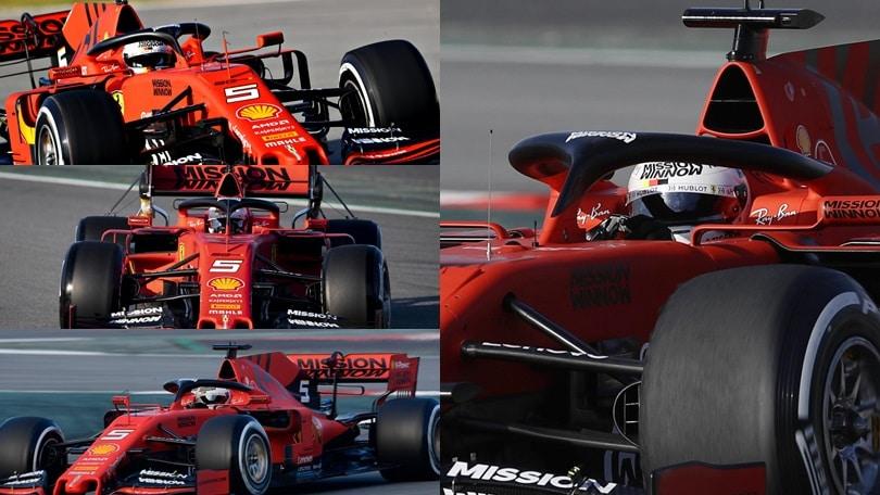 F1, ecco la nuova Ferrari: Vettel show al Montmelò