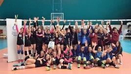 Volley: la Duemila 12 De Settesoli vince il titolo U14 femminile Elite