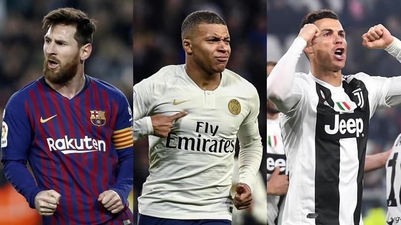 Scarpa d'Oro, che sfida tra Messi-Mbappé-Cristiano Ronaldo