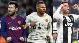Scarpa d'Oro, che sfida tra Messi-Mbappé-Cristiano Ronaldo!