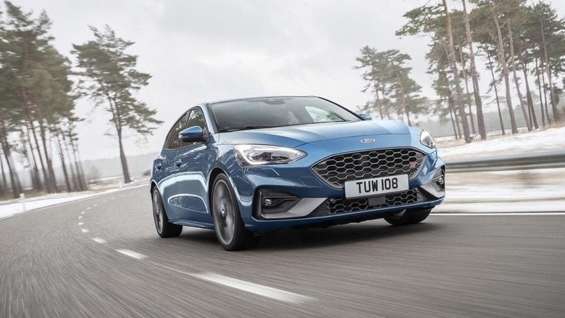 Nuova Ford Focus ST, potenza sportiva