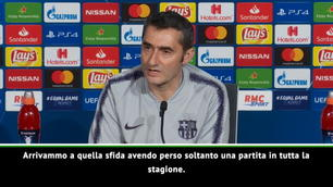 """Valverde: """"Favoriti? Lo eravamo anche contro la Roma..."""""""