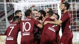 Serie C, Rieti-Trapani 0-2: Ferretti ed Evacuo la risolvono nella ripresa
