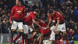 Fa Cup: Manchester United da urlo, Chelsea ko e Sarri vacilla