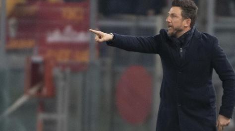 Roma, Di Francesco: «Nel 1° tempo non c'eravamo: gara che ci serve da lezione»