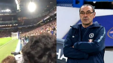 """""""Fuck Sarriball"""", il coro dei tifosi del Chelsea contro Sarri: video"""