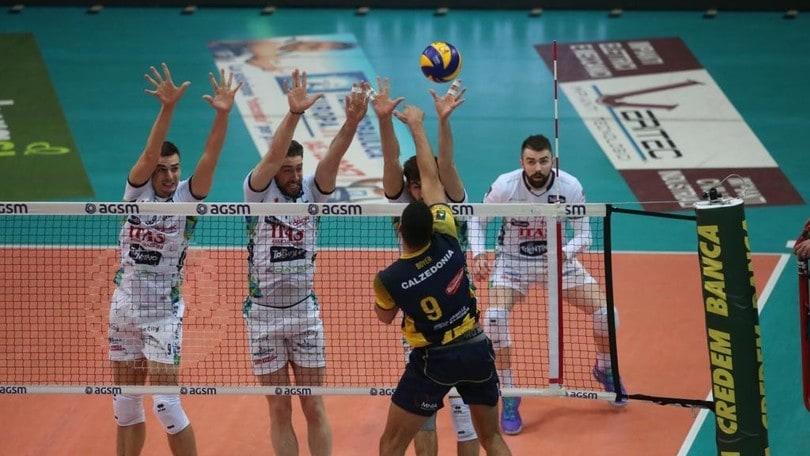 Volley: Superlega, Trento cade a Verona