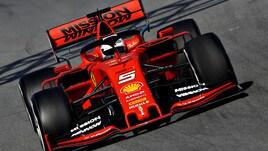 F1 Ferrari, Vettel: «Soddisfatto del primo test»