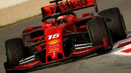 F1 test Barcellona: vola Leclerc, Hamilton settimo