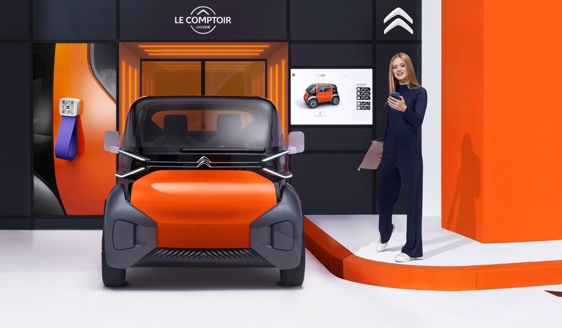 Citroën Ami One Concept: tutte le foto
