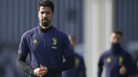 Juventus, Khedira salta l'Atletico:aritmia atriale, è rimasto a Torino