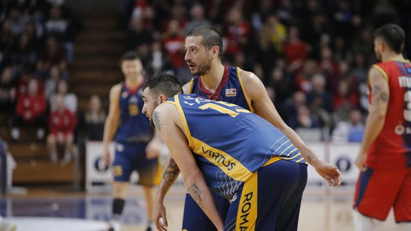 Basket, A2: la Virtus Roma cade in casa contro Capo d'Orlando