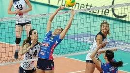 Volley: Champions Femminile, Novara vince in Polonia ed è la prima qualificata ai Quarti