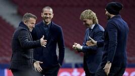 Juventus, Del Piero ospite a sorpresa al Wanda Metropolitano