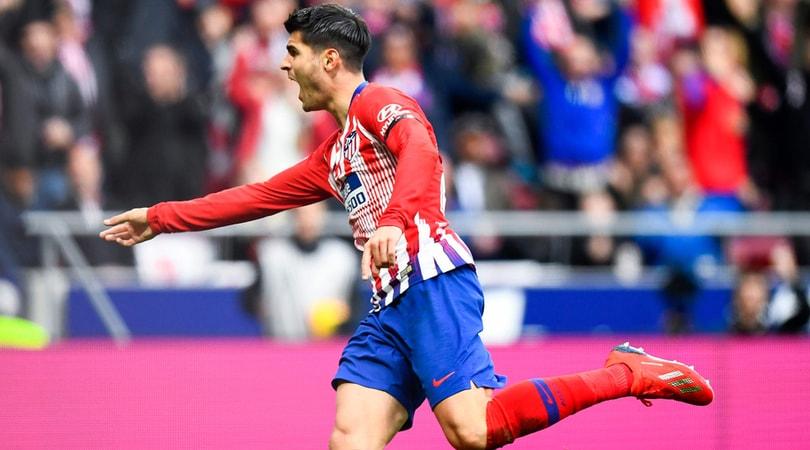 Atletico, Morata: «Al Wanda se segno contro la Juve esulto»