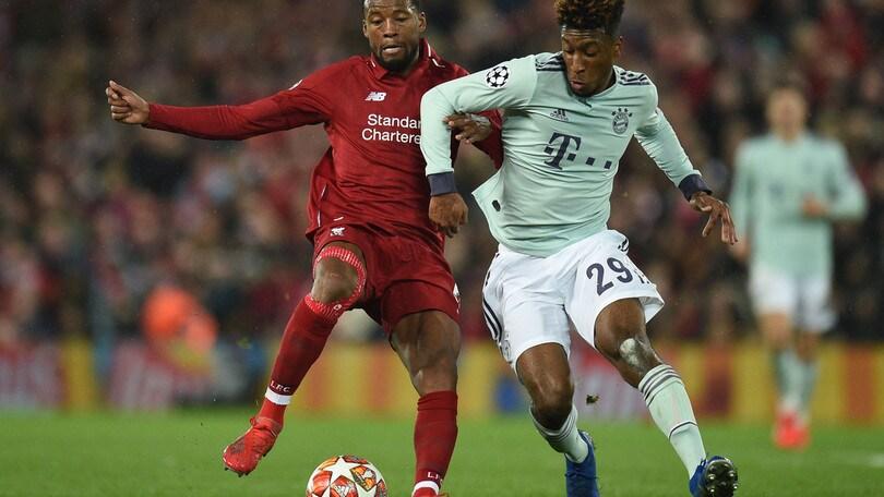 Champions: Liverpool-Bayern, bavaresi avanti per i quarti