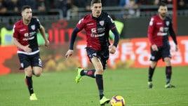 Serie A Cagliari, allenamento in gruppo per Despodov