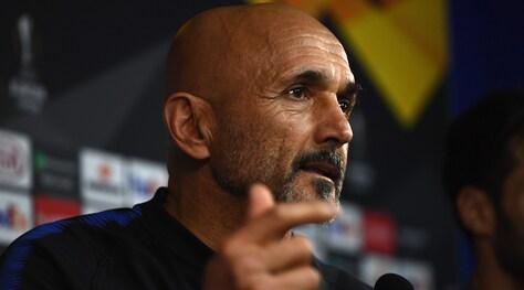 Europa League, Spalletti: «Inter tra le favorite. Icardi? Il caso non si risolve sui social»
