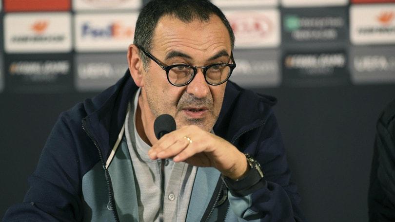 Chelsea, Sarri: «Non facile giocare ogni tre giorni. Devo pensare a lungo termine»