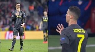 """Ronaldo stuzzica: fa il """"5"""" delle Champions vinte ai tifosi colchoneros"""
