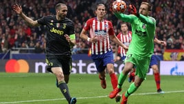 Champions League Atletico Madrid-Juventus 2-0, il tabellino