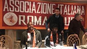 Roma, Nzonzi, Bianda e Massara alla festa dell'AIRC