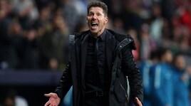 Simeone: «Il gestaccio non era rivolto alla Juventus»