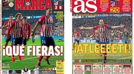 I media spagnoli esaltano l'Atletico: «Che belve»