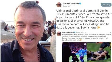 Pistocchi attacca Allegri: «Non ha dato la mentalità alla Juventus»