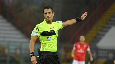 Serie B Verona-Salernitana, dirige Di Martino. Brescia-Crotone: Ros
