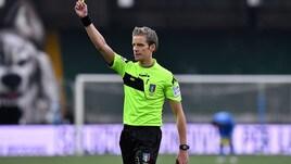 Serie A Parma-Napoli, dirige Chiffi. Frosinone-Roma: Manganiello