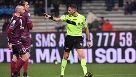 Serie B Verona-Salernitana, cambia l'arbitro: c'è Serra