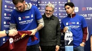 Santon e Pedro Neto presentano la Junior Tim Cup
