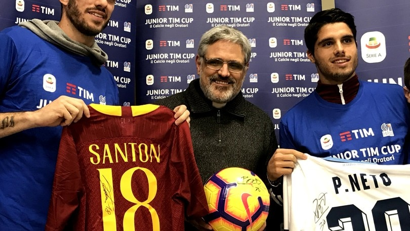 Junior Tim Cup, Santon e Neto: «Il derby una grande emozione. Il tifo dei romani è speciale»